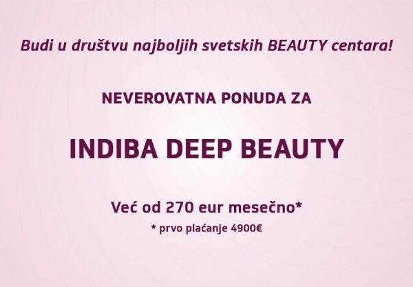 Indiba Deep Beauty ispis